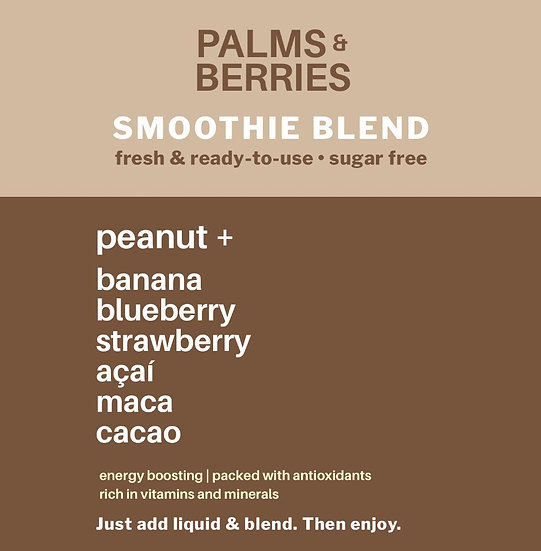Smoothie Blend Peanut +