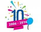 Gründer i 10 år!