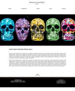 Parfums Crystal Skull Paris