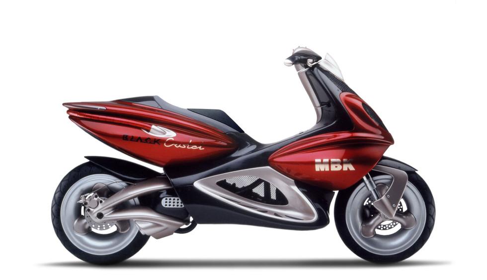 MBK Black Crystal Scooter