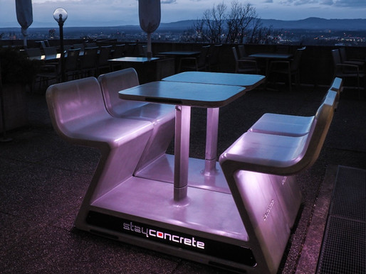 SACHA LAKIC & STAYCONCRETE – HEATED BENCHES IN LUXEMBOURG CITY