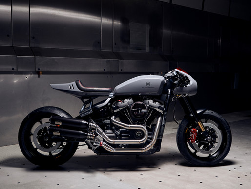 BT03 - NEW LAUNCH FROM SACHA'S CAFERACER BRAND - BLACKTRACK MOTORS