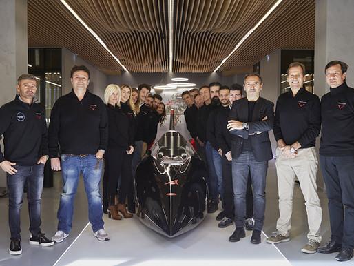 SACHA UNVEILS VENTURI AUTOMOBILE'S MONACO HQ