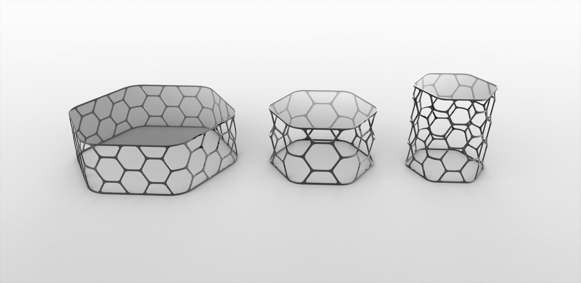 Pollen Coffee Tables