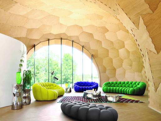 NEW CURVED BUBBLE SOFA - ROCHE BOBOIS