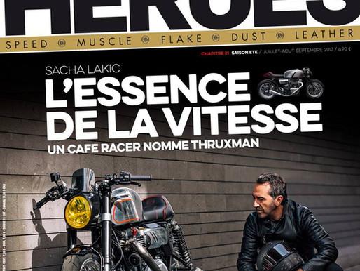 SACHA LAKIC - MOTO HEROES