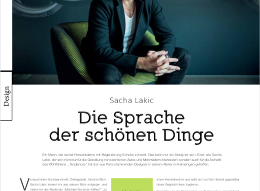 SACHA LAKIC IN AN INTERVIEW WITH LUXEMBURGER WORT