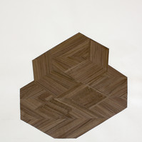 Furniture ( Zigzag2), 2020, collage, 66x54cm  © Ruth Gurvich