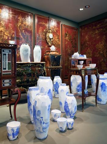 Exposition Circuits Céramique, 2010, Musée des arts décoratifs, Paris  © MAD, Paris / Luc Boegly