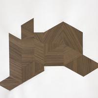 Furniture ( Room 3 ), 2020, collage, 42x52cm  © Ruth Gurvich