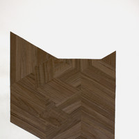 Furniture ( Zigzag 1 ), 2020, collage, 66x54 cm  © Ruth Gurvich