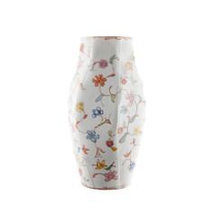 """Vase S, 2012, pièce unique, porcelaine décors """"petit feu"""", H 21 cm, Ø 7 cm  © Nymphemburg"""