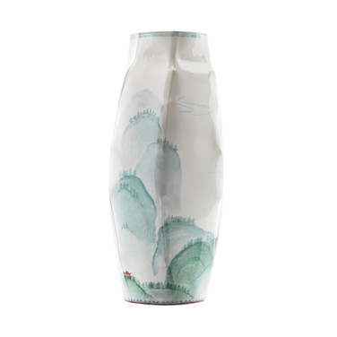 Vase M 27 cm, Ø 8 cm  © Nymphemburg