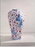 Vase Fauves, 2000, acrylique s/montage en papier, 95 x 60 x 60 cm  © photographe Enrique Ahumada