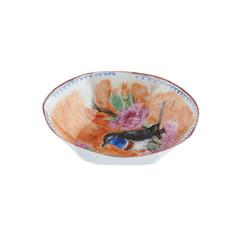 """Bol L, 2012, pièce unique, porcelaine décors """"petit feu"""", H 3 cm, Ø 12 cm  © Nymphemburg"""