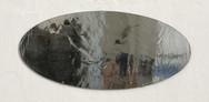 Overturn, 2017, édition de 10 exemplaires et de 2 épreuves d'artiste, grisaille sur miroir en verre antique. © photographe Ruth Gurvich