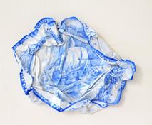 Tempête, 2008, aquarelle s/montage en papier, 27.5 x 27.5 cm  © photographe Ruth Gurvich