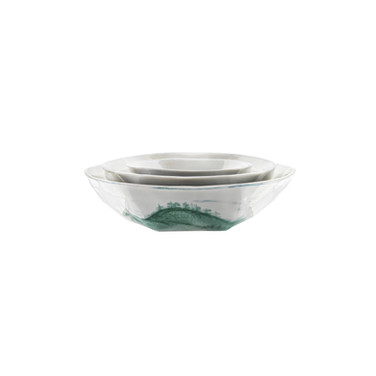 Set de 3 bols - Set of 3 bowl Ø 7 cm, Ø 9 cm, Ø 12 cm  © Nymphemburg