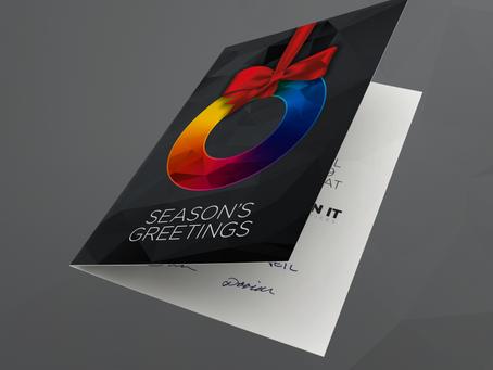 Festive Company Cards