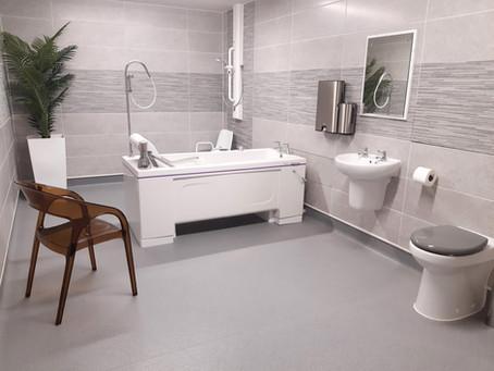 Creating a dementia friendly bathroom