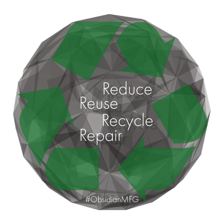 #ObsidianMFG and Earth Month: Saving Green and Going Green