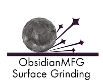 Obsidian surface grinding logo