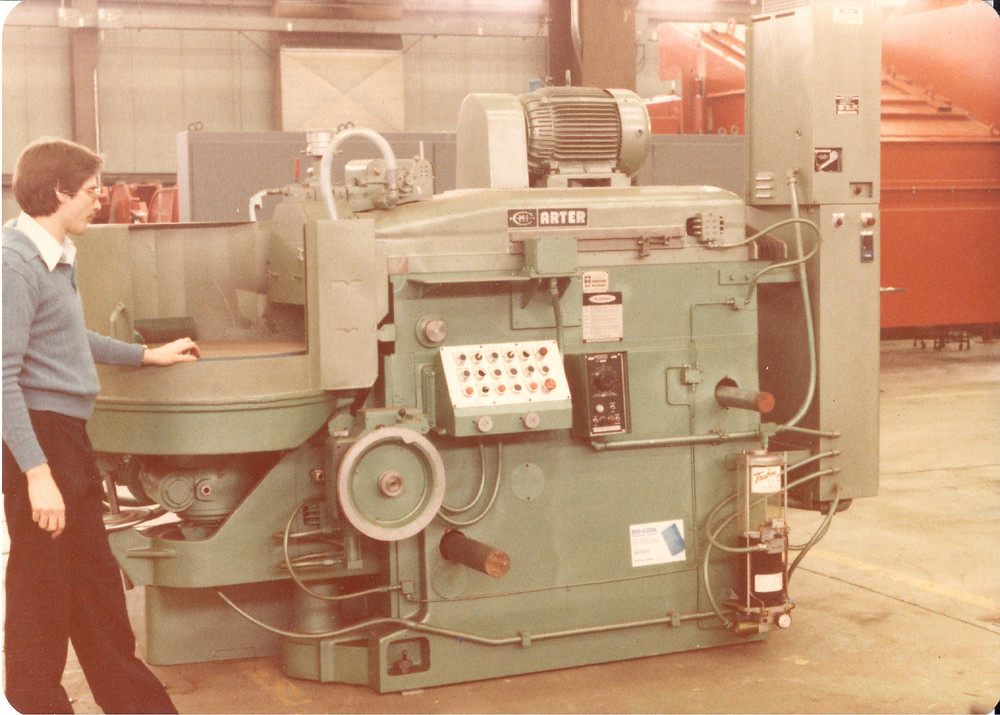 An Arter Model D while the brand was owned by Centro-Metalcut, Inc.