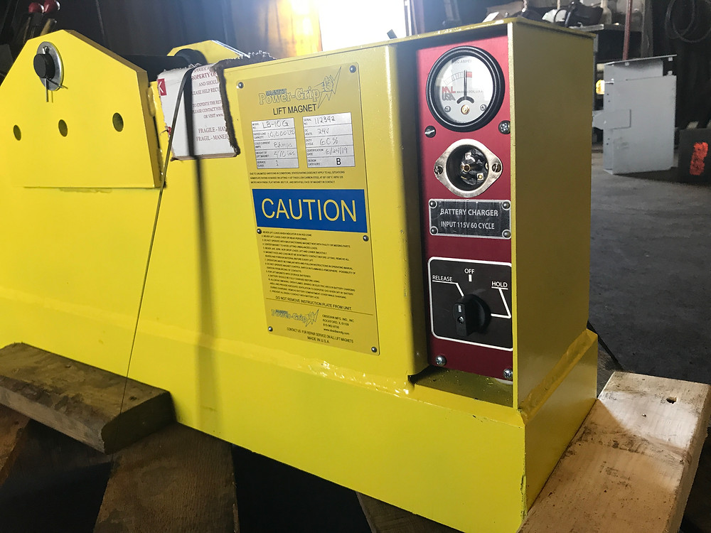 Power-Grip lift magnet