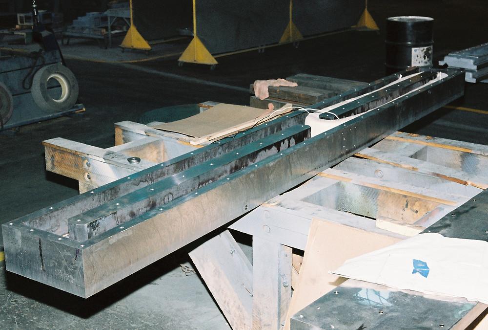 Magna-Lock USA Knife Bar being assembled