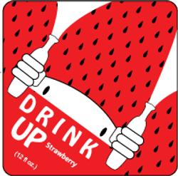 Drink UP! Label