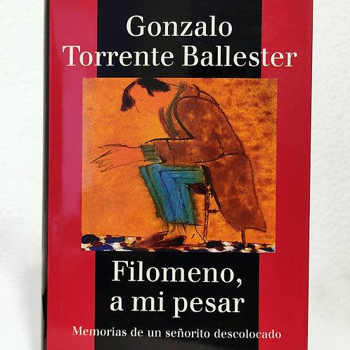 Filomeno, a mi pesar (Gonzalo Torrente Ballester)