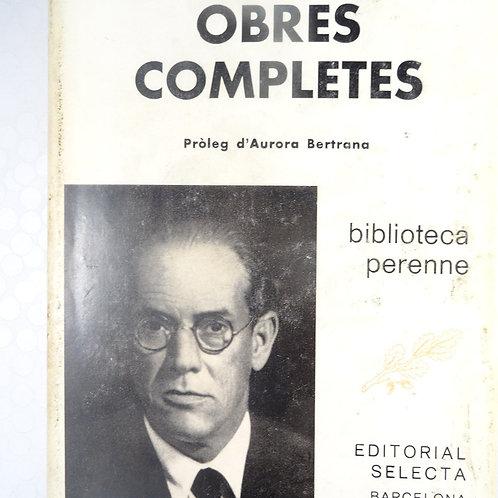 OBRES COMPLETES (Bertrana, Prudenci)