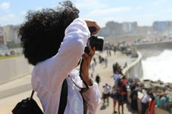 April 2015 Casablanca Morocco Aisha