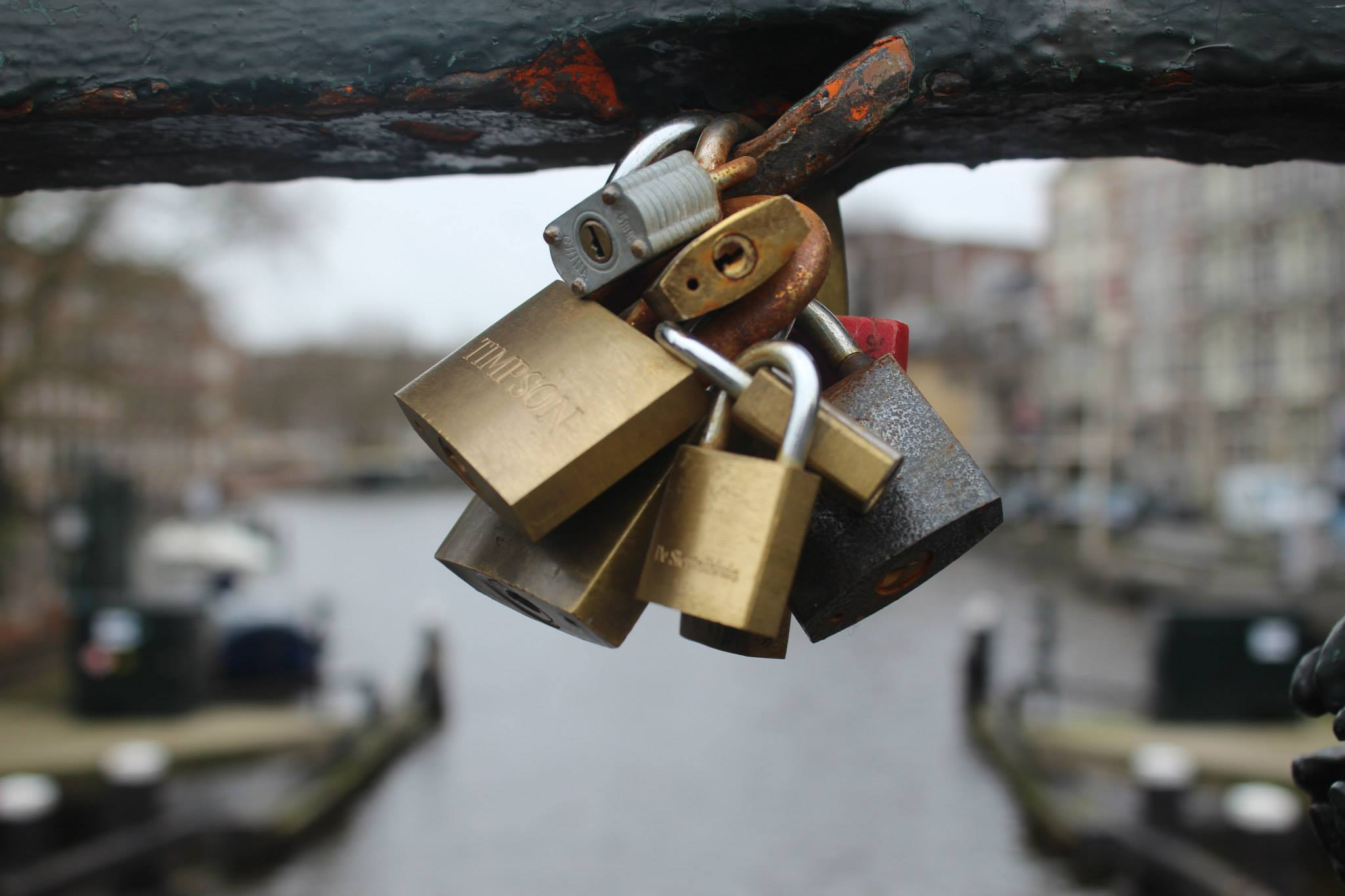 February 2015 Amsterdam Locks of Love
