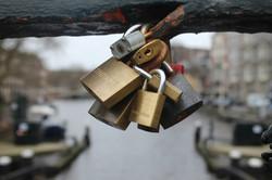 February 2015 Amsterdam Locks of Love