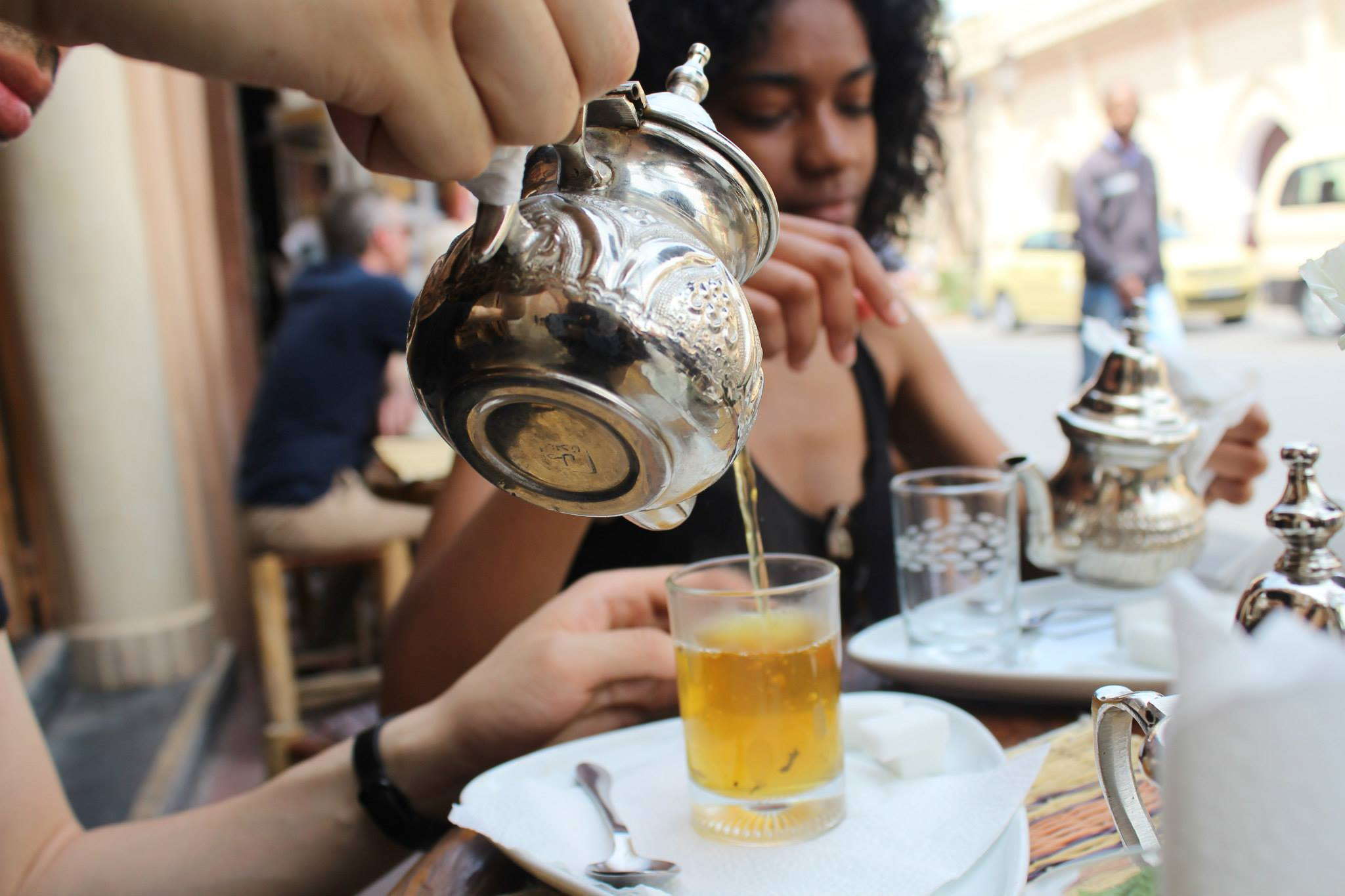 April 2015 Marrakech Morocco Tea