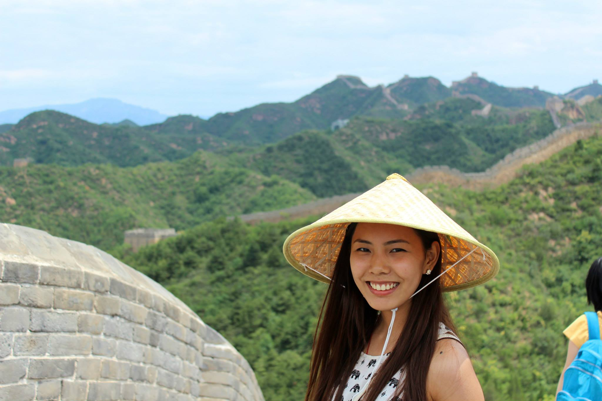 August 2015 Great Wall Beijing