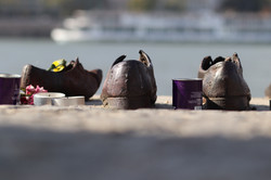 Shoes on the Danube River