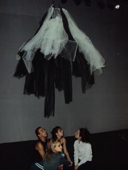 Cenário do Ballet Memórias de Corpos que dançam-@ Lados Cia. de Dança-São Paulo-