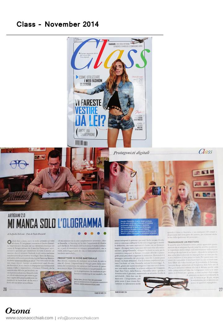 Class, November 2014
