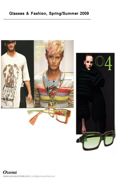 Glasses & Fashion,Spring/Summer 2009