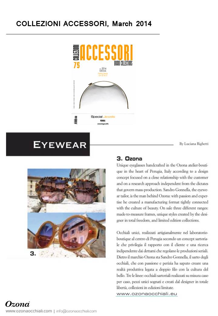 Collezioni Accessori no75 March 2014