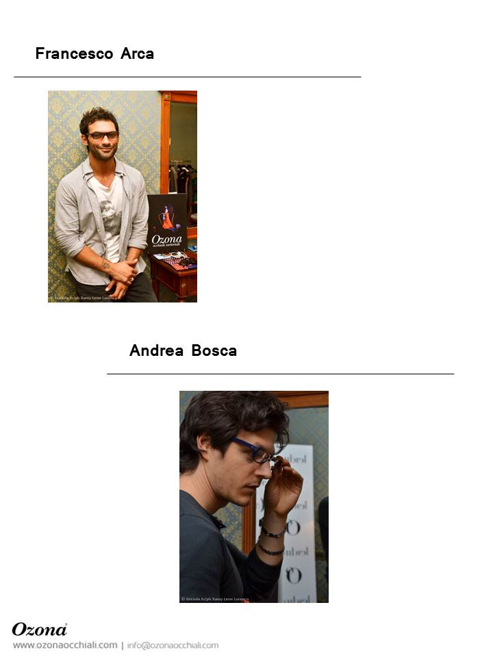Francesco Arca & Andrea Bosca