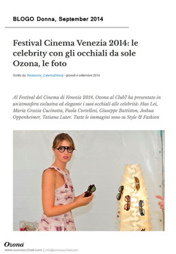 BLOGO Donna, September 2014
