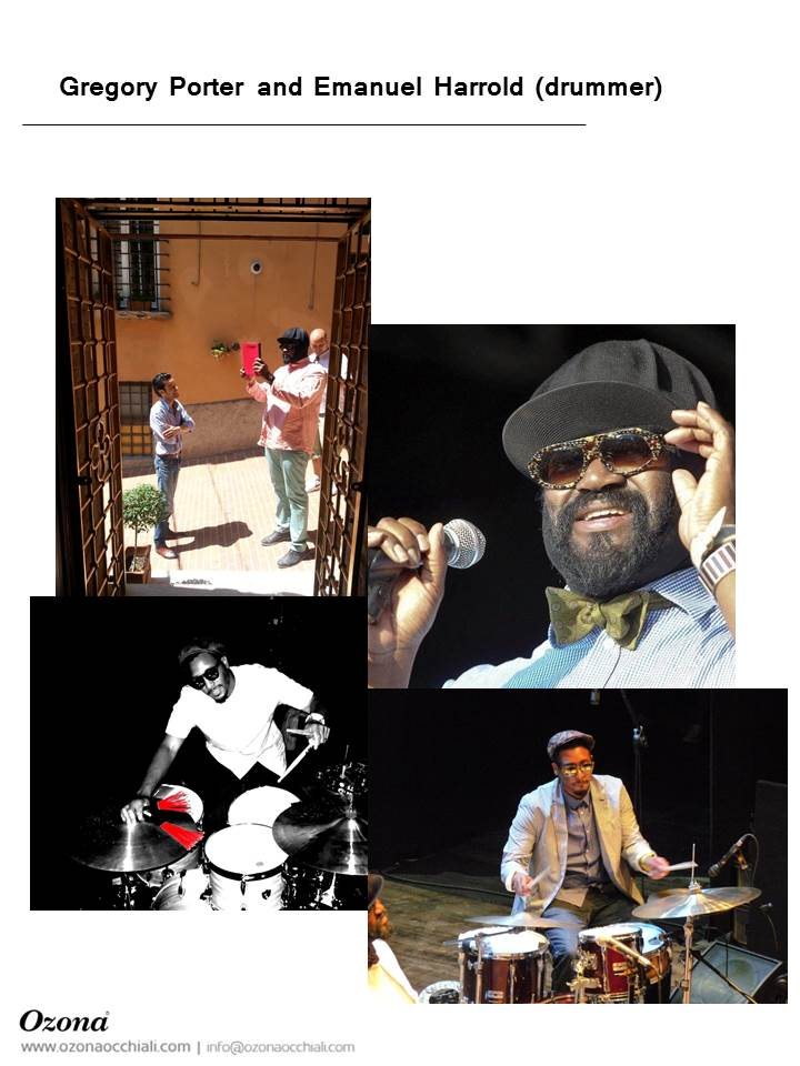 Gregory Porter and Emanuel Harrold