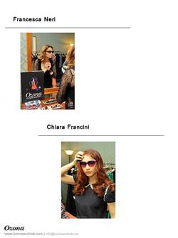 Francesca Neri & Chiara Francini