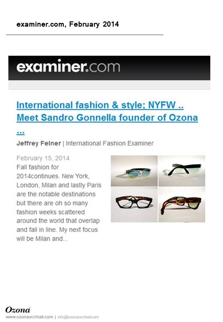 examiner.com, February 2014