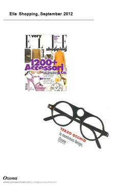Elle Shopping, September 2012