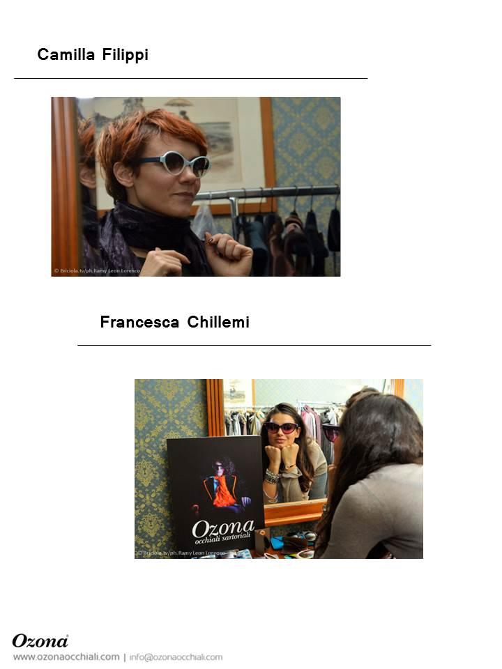 Camilla Filippi, Francesca Chillemi