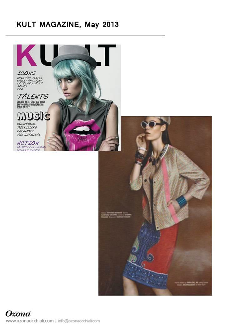 KULT MAGAZINE, May 2013